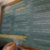 Menu at BreadHive Bakery & Cafe in Buffalo
