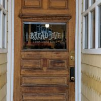 Door at BreadHive Bakery & Cafe in Buffalo