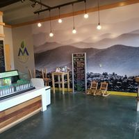 Great decor at Mountain Juicery in Asheville