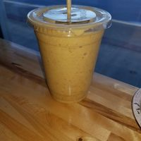 Pumpkin Pie Smoothie at Mountain Juicery in Asheville