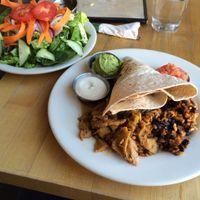 Jerk Chikin Plate at Vertical Diner in Salt Lake City