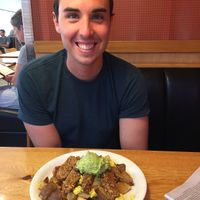 The. mountain - tofu scramble, potatoes, avocado, and tempeh at Vertical Diner in Salt Lake City