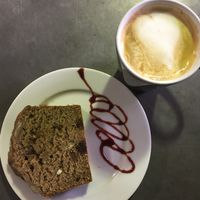 Vegan (and sugar free) banana bread at West Six Garden Cafe in West London