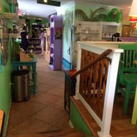 Interior at Midway Cafe and Coffee Bar in Islamorada