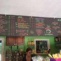 Counter at Midway Cafe and Coffee Bar in Islamorada