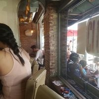 inside at Millie's Cafe in Los Angeles