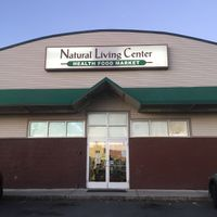 Front entrance at Natural Living Center in Bangor