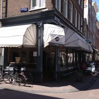Outside at La Perla in Amsterdam