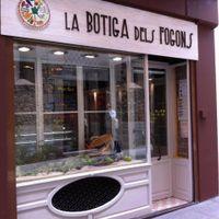 Outside view at La Botiga dels Fogons - maybe closed in Olot