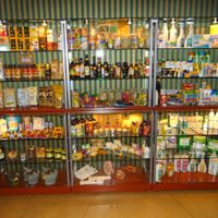 Procucts for sale at Rasajana in Panevezys