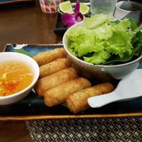 Spring rolls at Bong Sung Vegetarian Food in Ho Chi Minh City