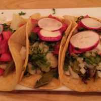 Cactus tacos at La Dona in Cape May