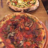 Yummy pizza  at Aperitivo in Dublin