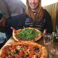 2 vegan pizzas at Aperitivo in Dublin