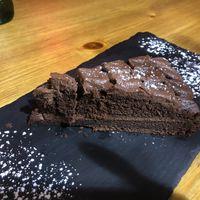 Vegan Chocolate Cake at Aperitivo in Dublin