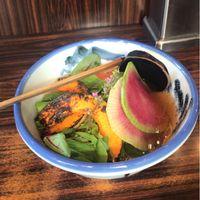 Vegan ramen  at Afuri in Tokyo