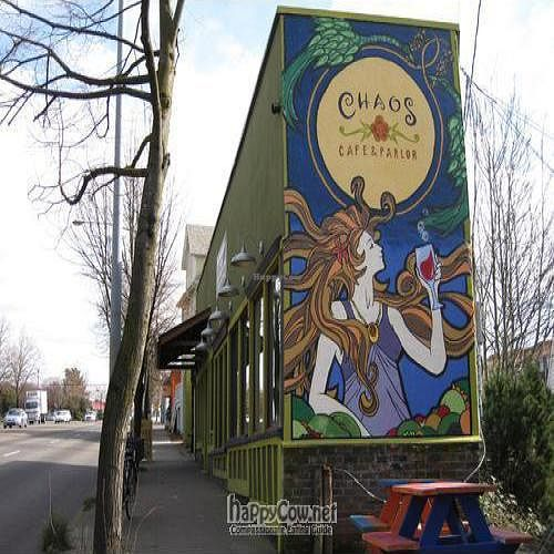 Closed Chaos Cafe And Parlor Portland Oregon Restaurant Happycow