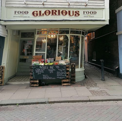 """Love this wonky shop on Rochester's historic high street. at Food Glorious Food """"44"""" in Rochester"""