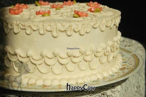 Allergen Free Vegan Vanilla Birthday Cake At Whimsy Bakery In Dallas